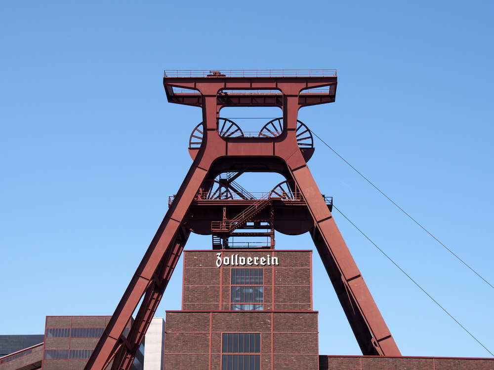 Zeche Zollverein: Hier haben sich mehrere Museen in Essen angesiedelt, die die Ruhrgebietskultur erklären.